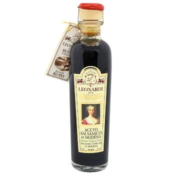 Vinegar Leonardi balsamic 250ml glass bottle - buy, prices for CityMarket - photo 1