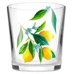 Стакан Лимоны низкий 250мл - купить, цены на Ашан - фото 1