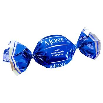 Цукерки Konti Mone смак молочний трюфель