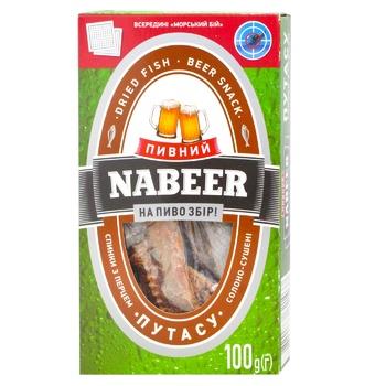 Путассу Nabeer с перцем спинка солено-сушеная 100г - купить, цены на МегаМаркет - фото 1