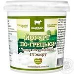 Йогурт Mother По-гречески 1% 500г