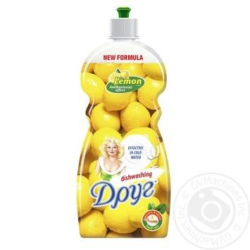 Средство для мытья посуды Друг Лимон 500мл - купить, цены на Фуршет - фото 1