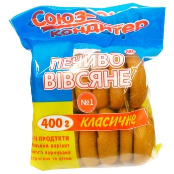 Cookies Soyuz konditer oat 400g - buy, prices for CityMarket - photo 1