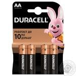 Duracell AA Battery 4pcs - buy, prices for Auchan - image 1