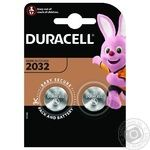 Батарейка Duracell 3V 2032 2шт - купить, цены на Novus - фото 1