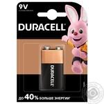 Щелочные батарейки Duracell 9В, 1 шт. в упаковке - купить, цены на Таврия В - фото 1
