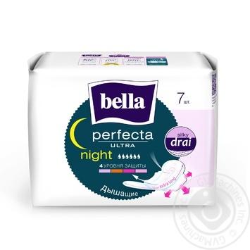 Прокладки гігієнічні Bella Perfecta Ultra Night 7шт - купити, ціни на Novus - фото 1