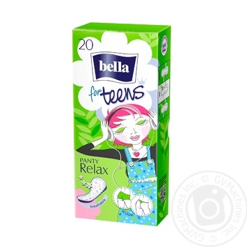 Bella Relax Green Tea Deo For Teens Pads - buy, prices for CityMarket - photo 1