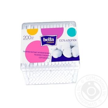 Палочки ватные Bella Сotton 200шт - купить, цены на Таврия В - фото 2