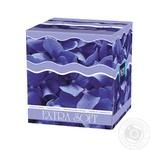 Платочки бумажные Bella №1 Extra Soft косметические двухслойные 80шт