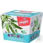 Хустинки паперові унiверсальні двошарові Bella Baby Happy 40+40шт ароматом эвкалипта - купить, цены на Novus - фото 1