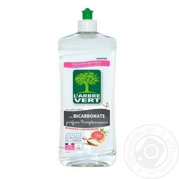 L'Arbre Vert Grapefruit dish soap 750ml