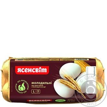 Яйца куриные Ясенсвит Молодильные С0 10шт - купить, цены на Восторг - фото 4