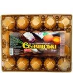 Яйцо куриное Ясенсвит Селянские С1 20шт - купить, цены на Novus - фото 3