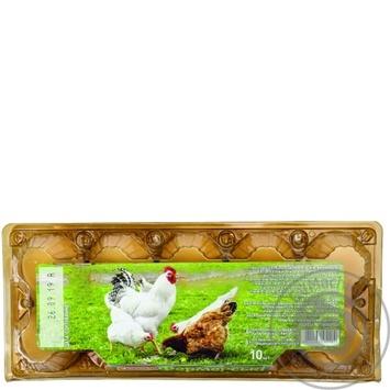 Yasensvit Farm Chicken Eggs С1 10pcs - buy, prices for Auchan - photo 2
