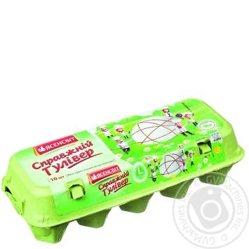 Яйця курячі Ясенсвіт Справжній Гулівер С0 10шт - купити, ціни на МегаМаркет - фото 2