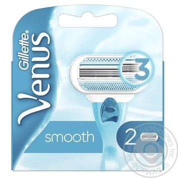 Картриджи для бритья Gillette Venus сменные 2шт