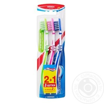 Aquafresh In-Between Clean Toothbrush 2+1 - buy, prices for Novus - image 1