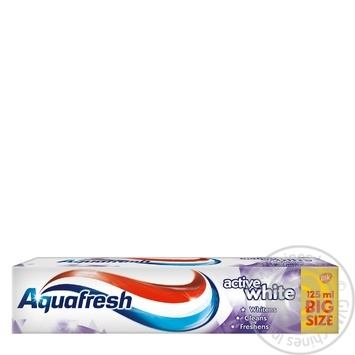 Aquafresh Active White Toothpaste 125ml - buy, prices for Furshet - image 1