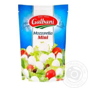 Сыр Galbani Mozzarella mini свежий 38% 150г - купить, цены на МегаМаркет - фото 1