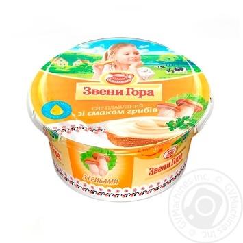Сыр Звени Гора плавленый пастообразный со вкусом грибов 175г - купить, цены на Фуршет - фото 1