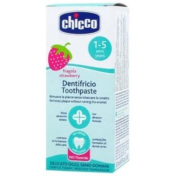 Паста Chicco Полуниця зуб.50мл - купити, ціни на CітіМаркет - фото 2