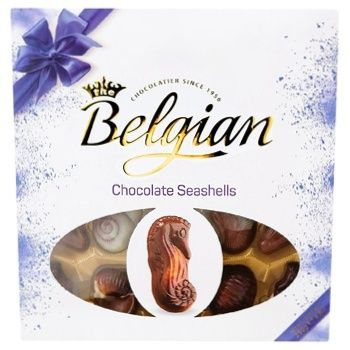 Цукерки The Belgian Дари моря шоколадні 250г