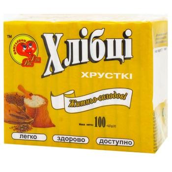 Хлебцы Для Вас ржаные 100г - купить, цены на СитиМаркет - фото 2