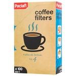Фильтры для кофе Paclan №4 100шт