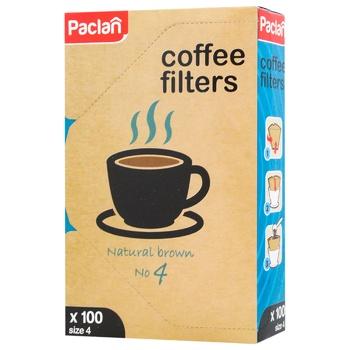 Фільтри для кави Paclan №4 100шт - buy, prices for Vostorg - photo 1