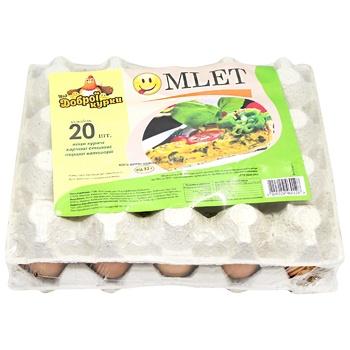 Яйца куриные Від доброї курки Omlet С1 20шт - купить, цены на СитиМаркет - фото 3