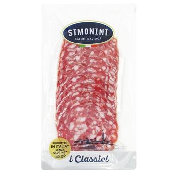 Simonini Napoli pork cutting sausage salami 80g - buy, prices for CityMarket - photo 1