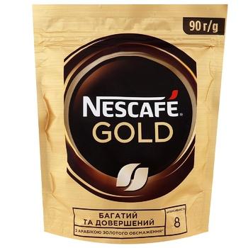 Кофе NESCAFÉ® Gold растворимый 90г - купить, цены на СитиМаркет - фото 1