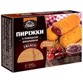 Polissia Frozen Fried Pies with Cherry Jam 340g - buy, prices for CityMarket - photo 1