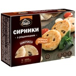 Polissia Cheese Pancakes with Raisins Frozen 460g