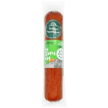 Sausage Syaivir turkey semi-smoked Ukraine - buy, prices for CityMarket - photo 1