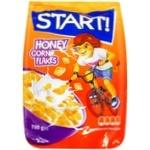 Готовий сніданок Start! Кукурудзяні пластівці медові 700г