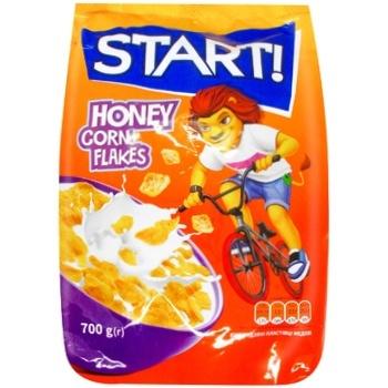 Start! Honey Corn Flakes 700g - buy, prices for CityMarket - photo 1