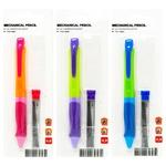 Набір олівців механічних зі змінними стержнями 0,7мм