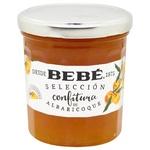 Jam apricot canned glass jar