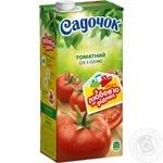 Сок Садочок томатный с солью 0,95л