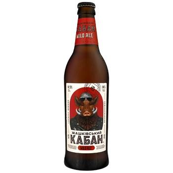Zhashkivskyi Kaban Wild Ale Light Unfiltered Beer 6,5% 0,5k
