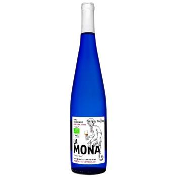 Вино La Mona Органічне біле н/сол 12% 0,75л - купить, цены на СитиМаркет - фото 1
