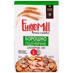 Борошно EuroMill пшеничне цільнозернове сіяне 1кг