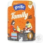 Towel Grite Family paper 2pcs - buy, prices for Novus - image 1