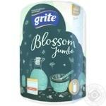 Рушник паперовий Grite Blossom Jumbo шт - купити, ціни на Ашан - фото 1