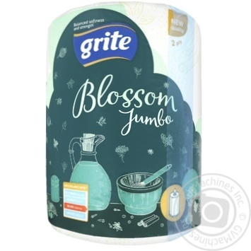 Grite Blossom Jumbo Towel Paper pc - buy, prices for Auchan - photo 1