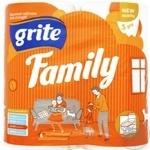 Grite Family Three-Layer Toilet Paper 4pcs