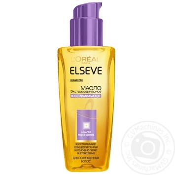 Олія для волосся Elseve Відновлююча для пошкодженого волосся 100мл - купити, ціни на Ашан - фото 1