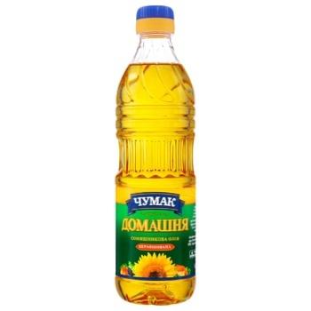 Chumak Homemade Unrefined Sunflower Oil 500ml - buy, prices for CityMarket - photo 1